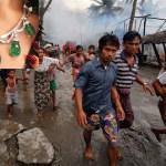"Luxury brand Bulgari under fire for using ""genocide gems"" from Myanmar"
