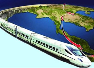 Thailand-China high-speed train construction kicks off