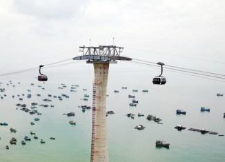Austrian firm opens world's longest cable car in Vietnam