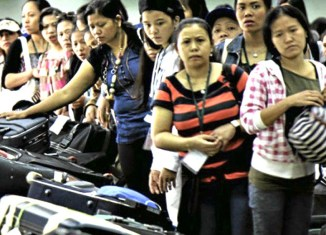 Filipinos banned from working in Kuwait, over 2,000 desperate to go home