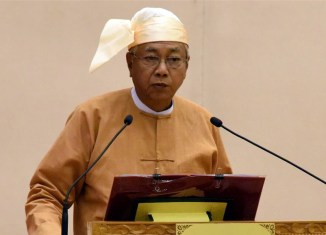 Myanmar president resigns 'to take a rest'