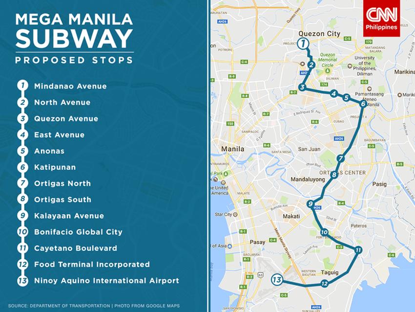 Image result for mega manila subway