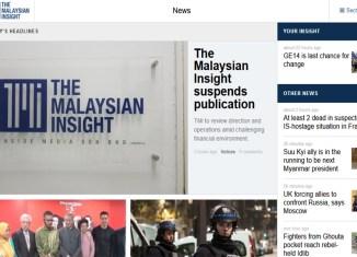 TMI next Malaysian news portal shutting down