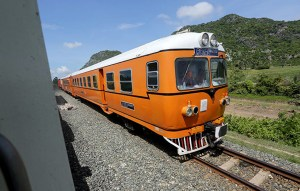 Cambodia restores  rail connection to Thailand after 45 years