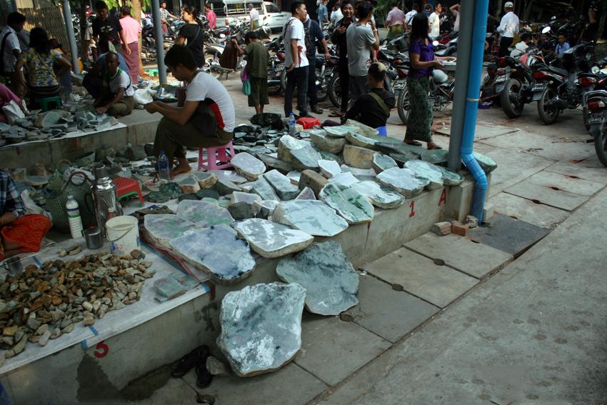The world's largest jade market: A photo tour