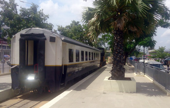 Phnom Penh's 'new' airport rail link: Travel in time