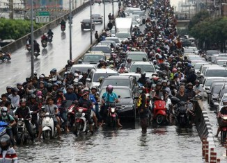 Sinking Bangkok among cities to be hardest hit by climate change