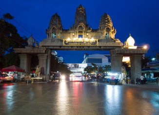 Poipet Cambodia Border Gate