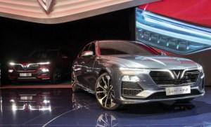 Vietnam's new car maker debuts with two models at Paris Motor Show