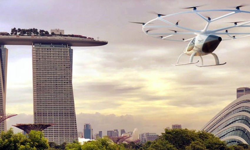 Singapore's first flying taxis to take off in 2019