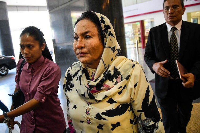 More charges against Malaysia's former first lady