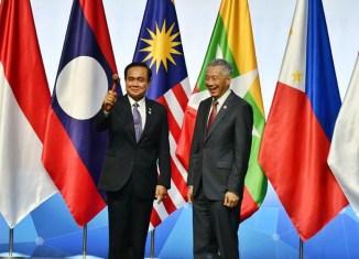 Thailand takes over ASEAN chairmanship