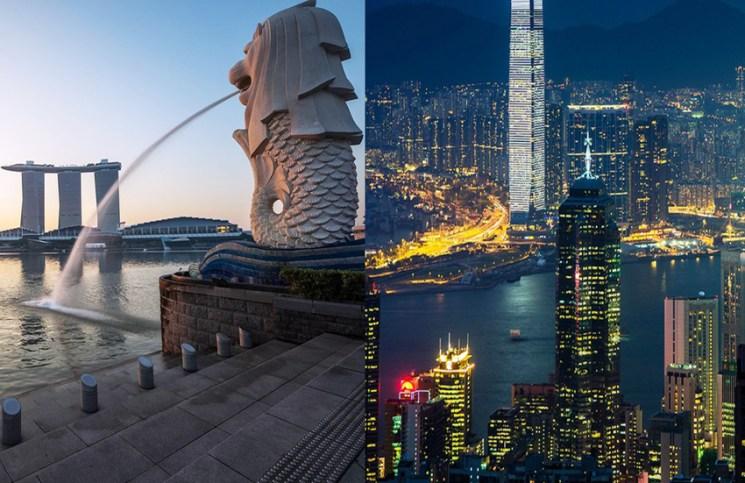 Hong Kong Businesses Consider Move To Singapore: Survey