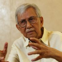 """There is  no restart button for exiting the crisis"": Malaysia's Ex-Finance Minister Daim Zainuddin"