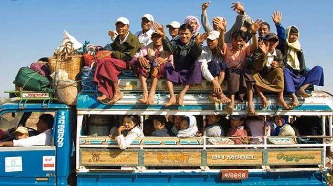 Vietnam Saigon Traffic