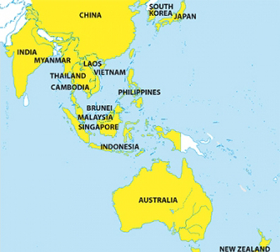 ASEAN+6 trade bloc in the making