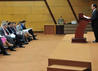 ASEAN ministers seek solution for South China Sea conflict