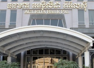 Laos' Acleda bank starts SME lending initiative