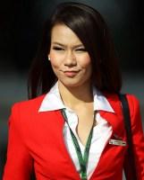 Air asia flight attendant