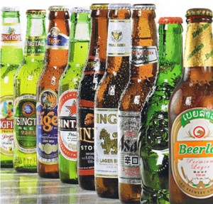 Asian Beers II 300x287