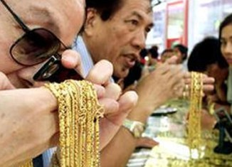 Thailand has become a major hub for gold