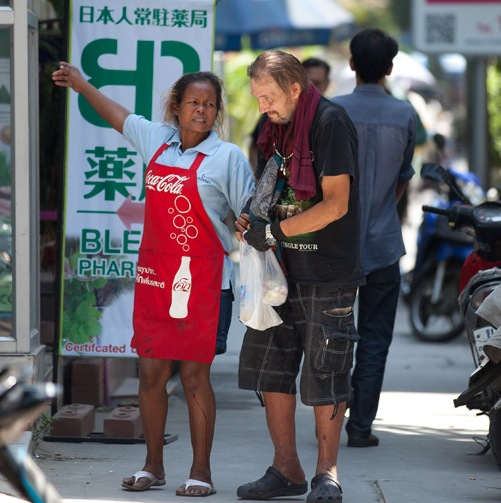 Thailand's homeless foreigners