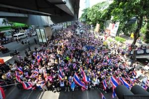 Bangkok street protests
