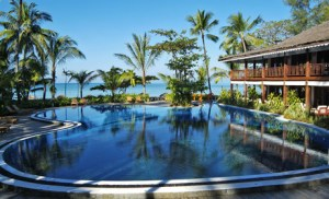 Resort in Ngapali Beach, Myanmar