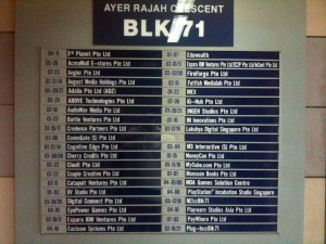 Block 71 companies
