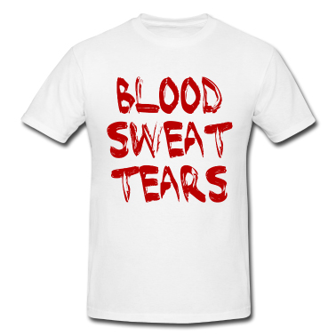 Look closer: Is there blood on your shirt?
