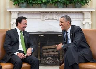 Obama, Sultan of Brunei discuss TPP