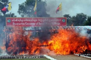 Thailand burns $400m worth of drugs (video)