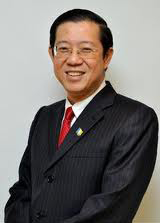 CM Penang Lim Guan Eng