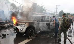 New bomb blasts wound seven Philippine soldiers