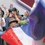 Thailand's celebrity fighter: Beer heiress joins protests