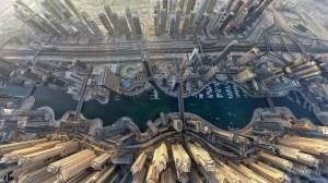 Dubai Marina from above