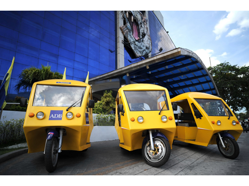 E Trike Philippines ADB