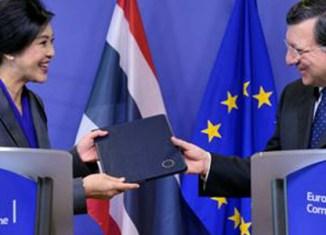 EU and Thailand sign partnership