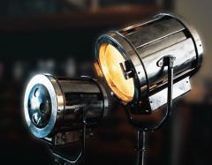 Film studio lights
