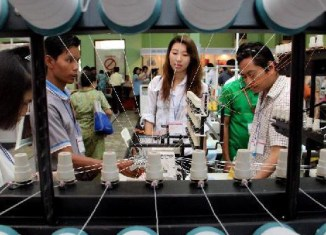 Myanmar textile exports surpass $1b