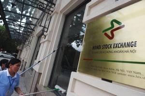 Hanoi stock exchange