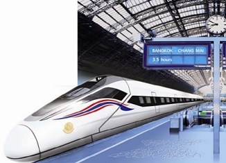 Thai junta approves $23-billion high-speed rail projects