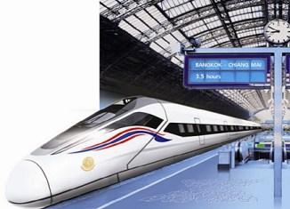 Thai junta approves $23-billion high-speed rail projects