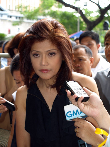 Imee Marcos, Imelda Marcos' daughter, was reelected governor of Ilocos Norte
