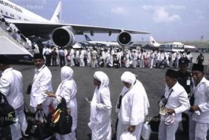 Indonesia pilgrims