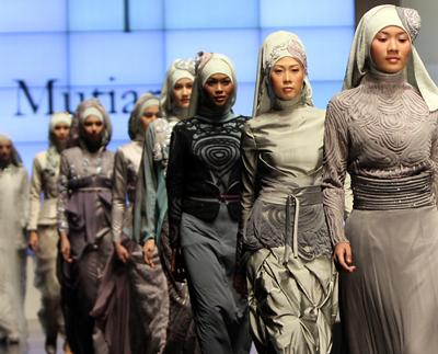 Jakarta, a new Muslim fashion hub (video)