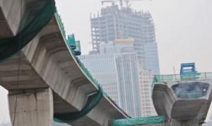 Jakarta bridge construction