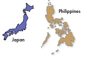 Another sign Japan loves the Philippines