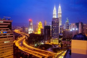 KL at night