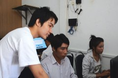 Laos workers